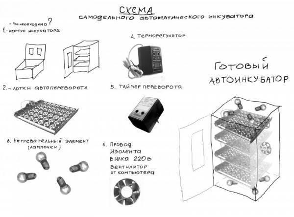 3 идеи самодельного инкубатора