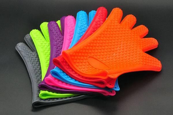 Силиконовые прихватки-перчатки из китая, характеристика изделия, цена, видео