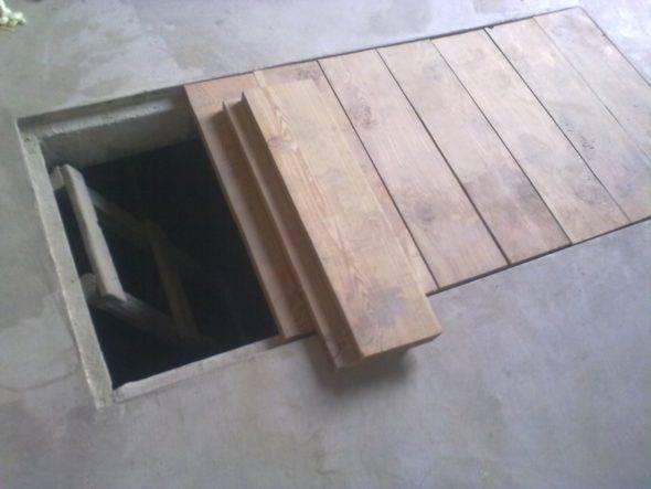 Чем закрыть яму в гараже