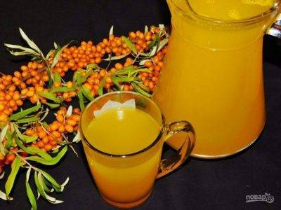 Сок из янтарной облепихи на зиму через соковыжималку. будьте здоровы! лечебные свойства сока облепихи