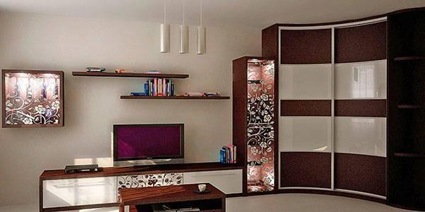 Мебель для зала - диваны, столы, пуфики, стенки и шкафы, видео