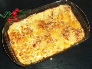 Классическая картофельная запеканка с фаршем в духовке