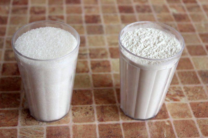 Сколько грамм сахара в стакане граненом и чайном