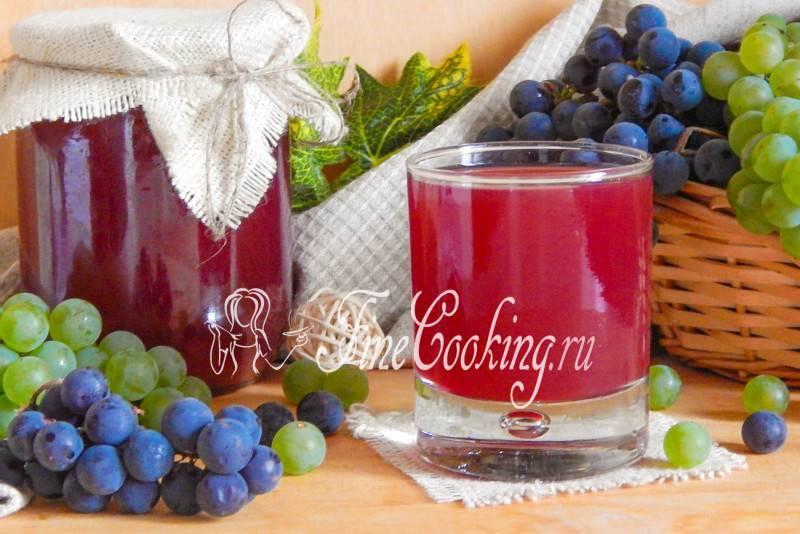 Виноградный сок на зиму