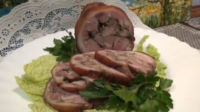 Рулет из свиной рульки: 7 домашних вкусных рецептов