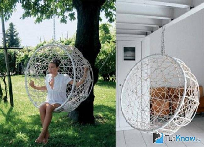 Создаём уютный уголок: подвесное кресло-гамак своими руками