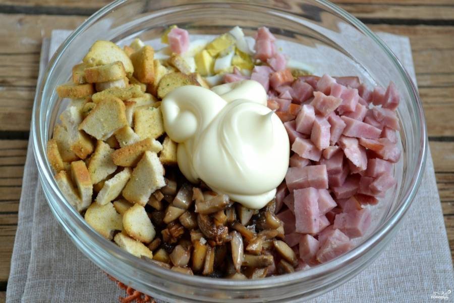 10 самых вкусных салатов с грибами
