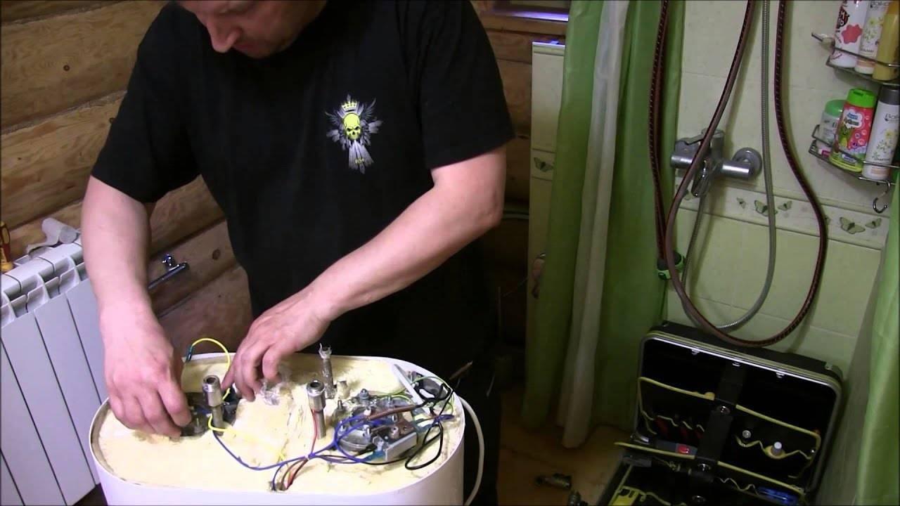 Водонагревательные приборы с бойлером: цены на тэны