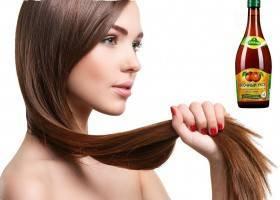 Яблочный уксус для волос польза ополаскивания