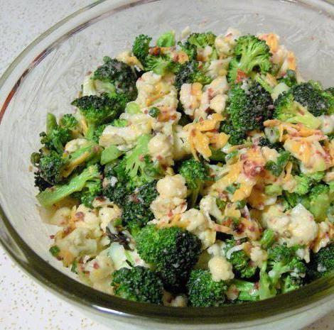 Запеканка с морепродуктами и брокколи