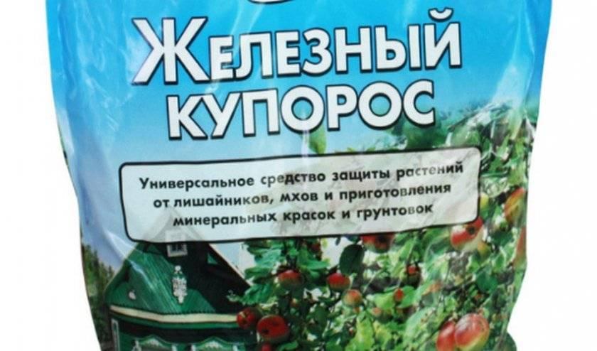 Железный купорос – применение в садоводстве