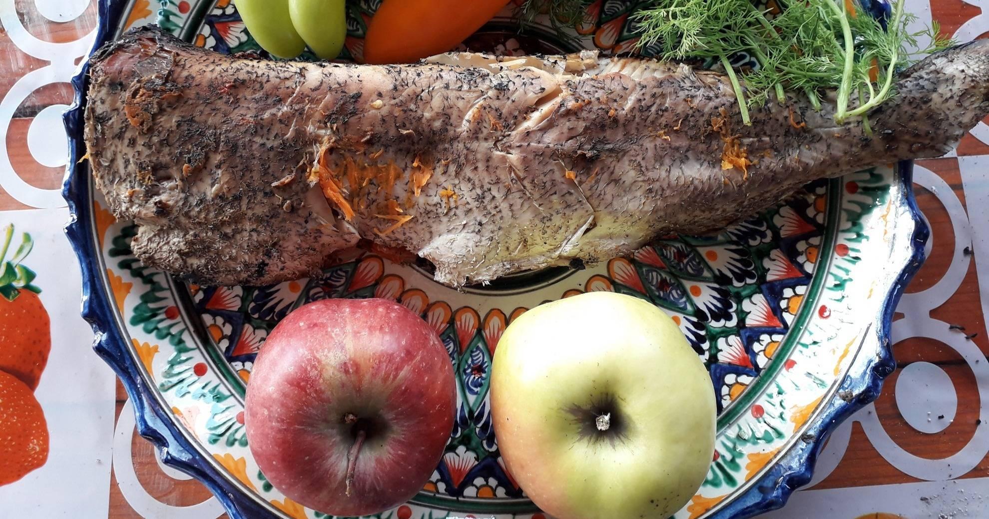 Рыба щука запеченная в духовке