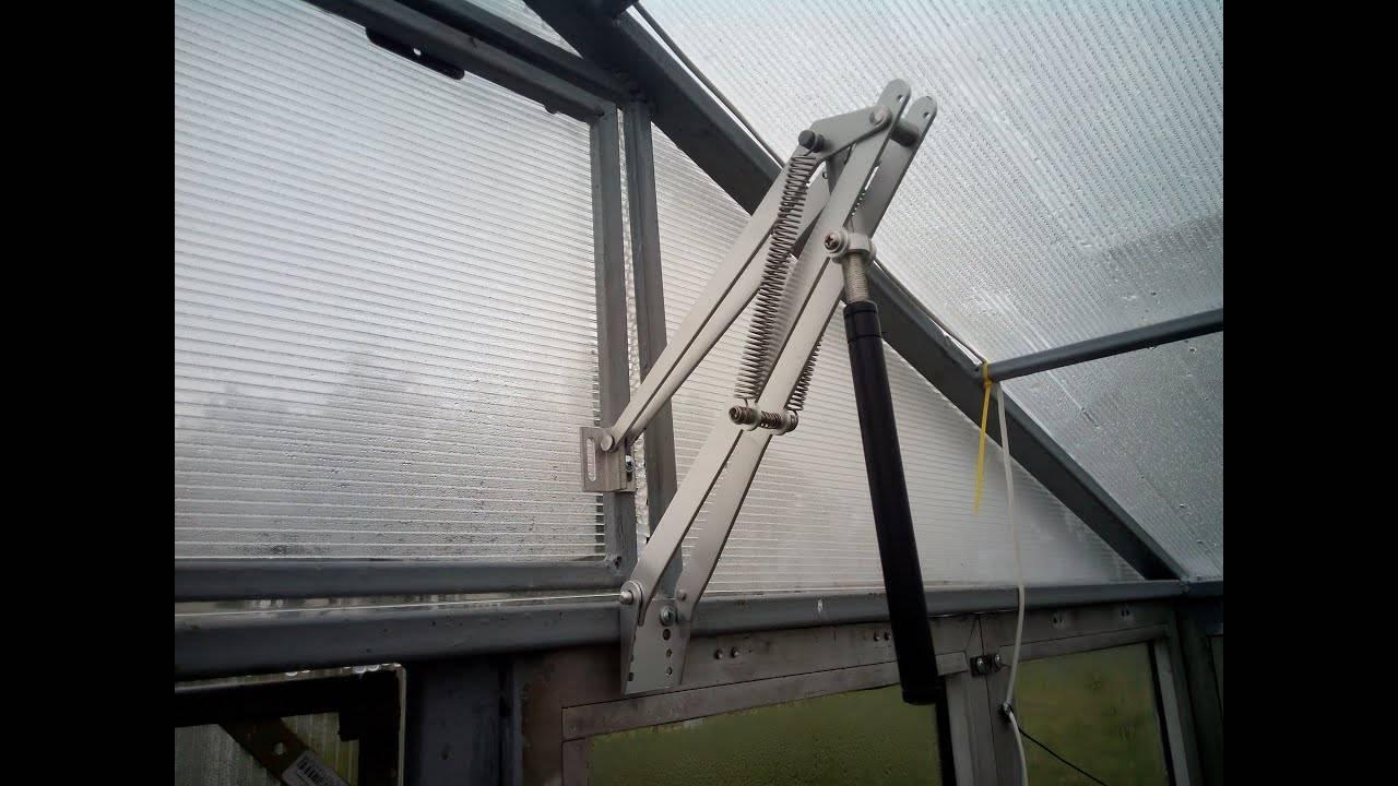 Термоприводы для теплиц — особенности и способы использования