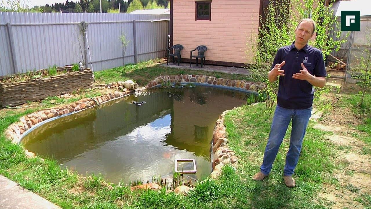 Как сделать пруд своими руками: 100 фото с инструкцией