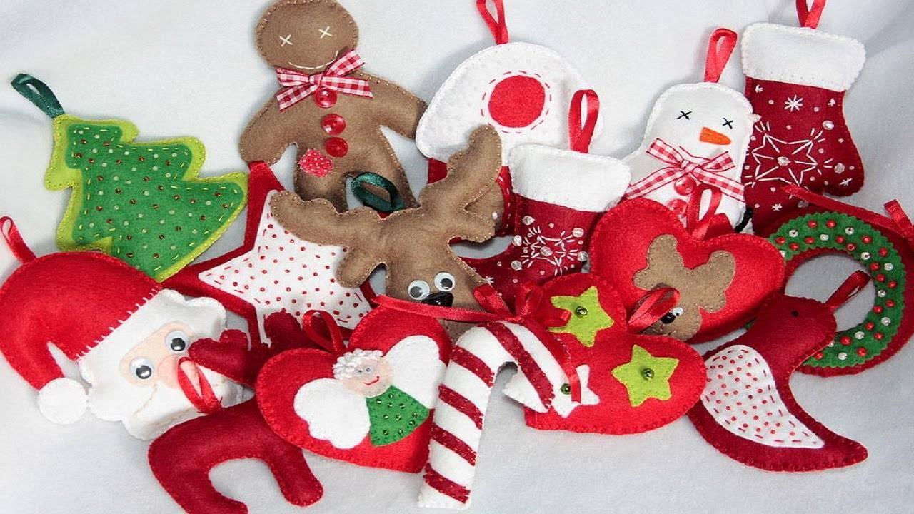 Новогодние игрушки из бисера