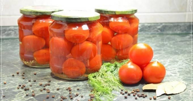 """Рецепт маринованных помидоров """"пальчики оближешь"""""""