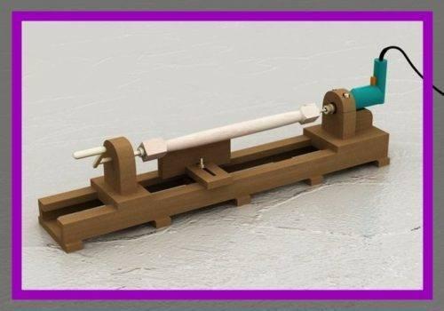 Делаем токарный станок по дереву: чертежи, корпус, передняя и задняя бабки