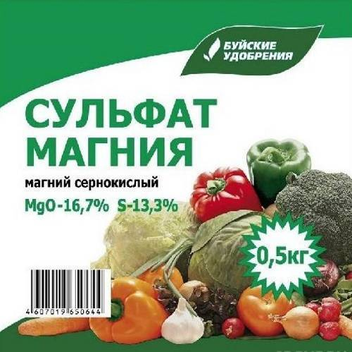Удобрение томатов сульфатом магния, видео