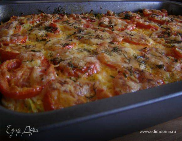 Запеканка с кабачками, помидорами и фаршем: теперь готовлю только так
