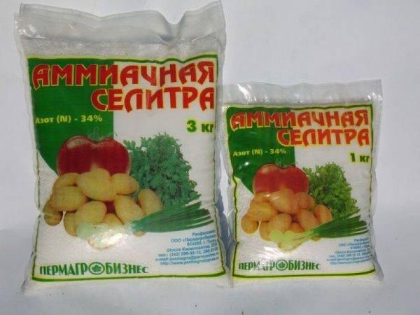 Мочевина и селитра для картофеля: инструкция и нормы внесения