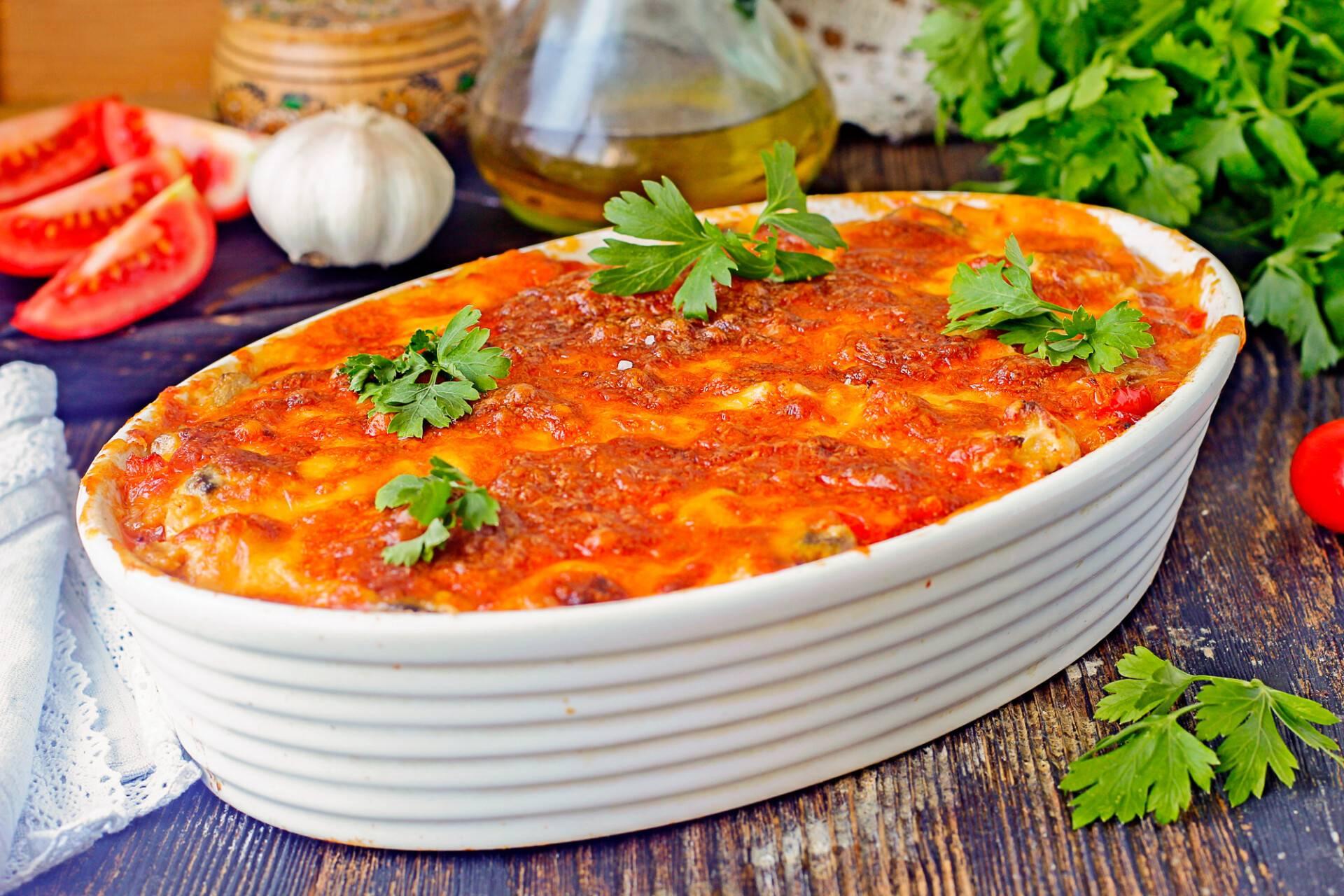 Запеканка из кабачков с фаршем в духовке: 6 простых и вкусных рецептов