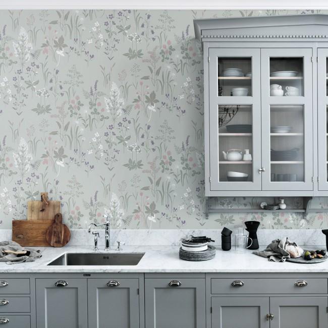 Как выбрать обои под цвет кухни – 112 фото и 7 правил