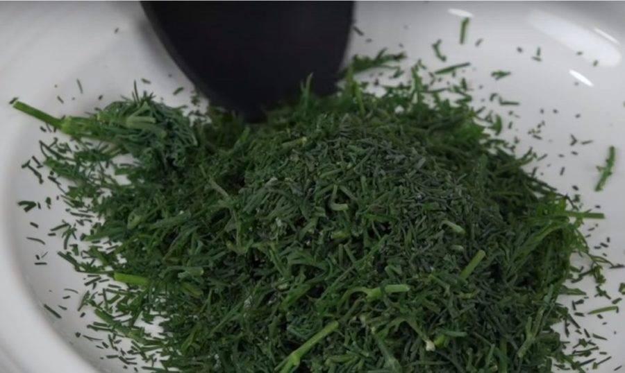 Укроп на зиму — 7 лучших рецептов заготовок