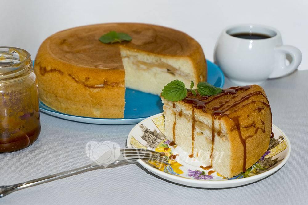 Шарлотка с яблоками в мультиварке — 5 рецептов яблочного пирога
