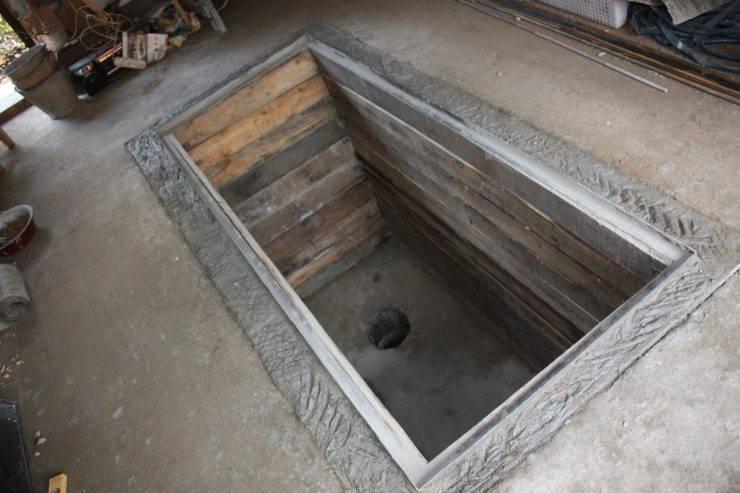 Чем закрыть яму в гараже: обустраиваем рабочее место смотрового отделения
