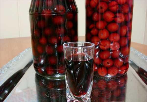 Настойка на ягодах черешни