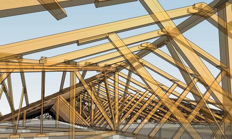 Инструкция по сооружению двускатной крыши своими руками