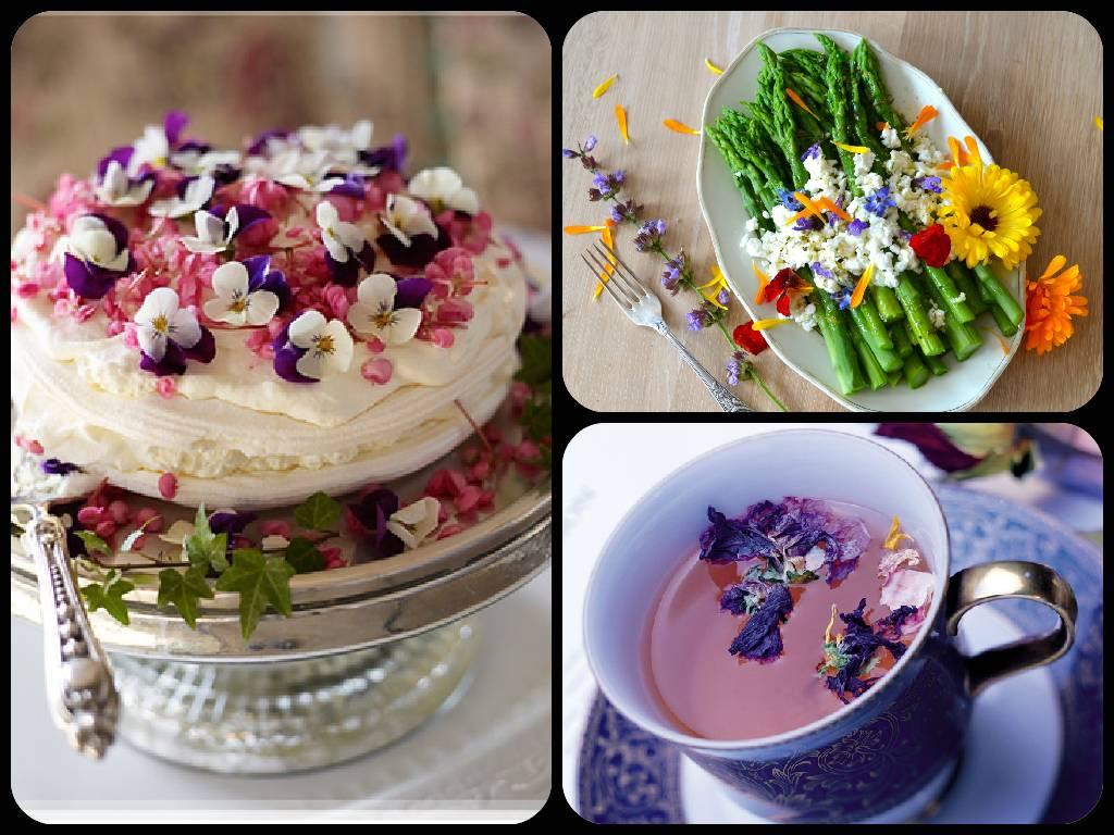 Цветы, которые можно есть