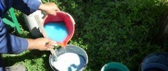 Железный купорос - применение в садоводстве, состав, видео