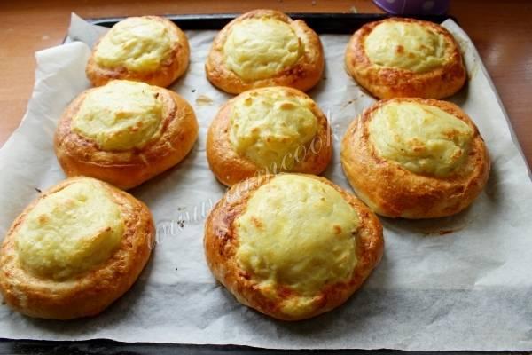 Шанежки с картошкой – 8 рецептов приготовления, как у бабушки