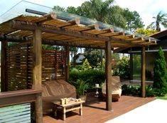 Патио для сада, сделанное в Китае