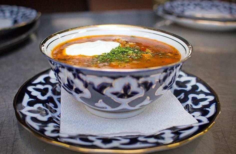 Наваристый суп машхурда для вкусного обеда