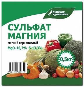 Сульфат магния удобрение применение на томатах