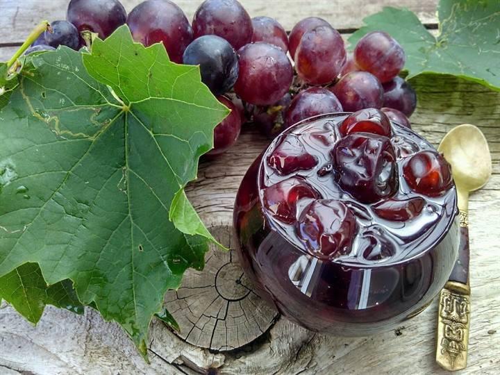 Варенье из винограда без косточек на зиму — 5 простых рецептов с фото пошагово