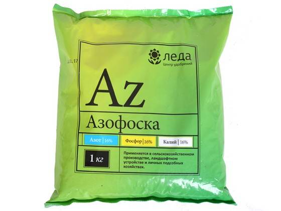 Азофоска — назначение и правила использования