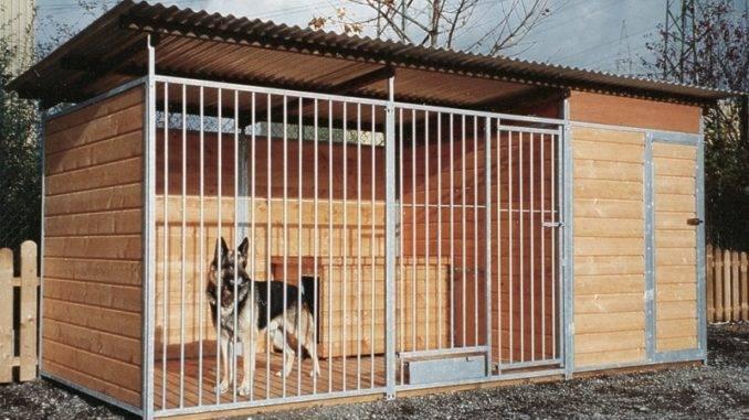 Вольер для собаки своими руками: обустраиваем жилую зону для своего питомца