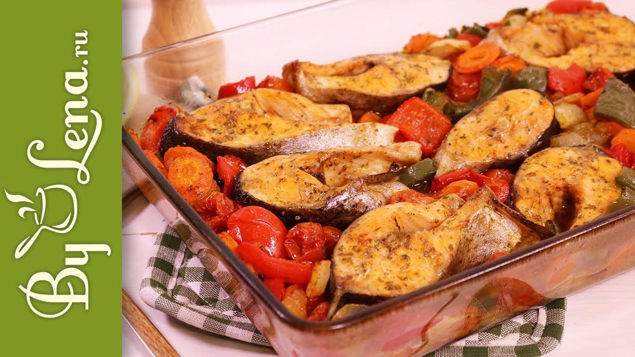 Запеченные овощи в духовке - пошаговые рецепты с фото, видео