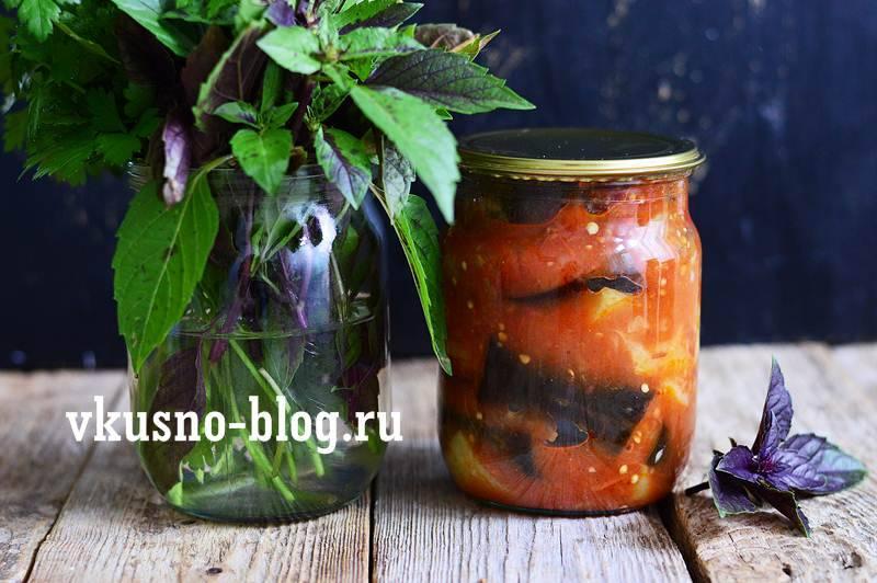 Рецепт соте из баклажанов на сковороде, в мультиварке, на зиму