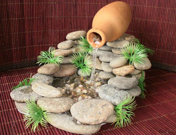 Водопад на даче своими руками: просто о сложном (инструкции и фото)