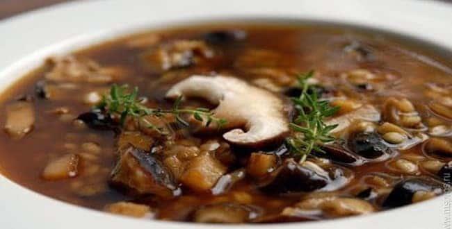 Суп из свежих шампиньонов - лучшие рецепты