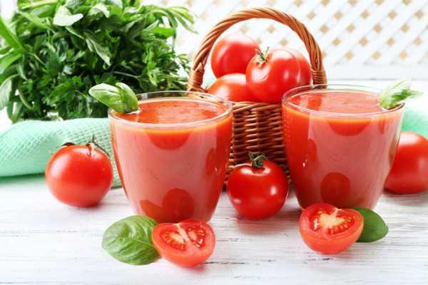 Польза и вред от употребления томатного сока