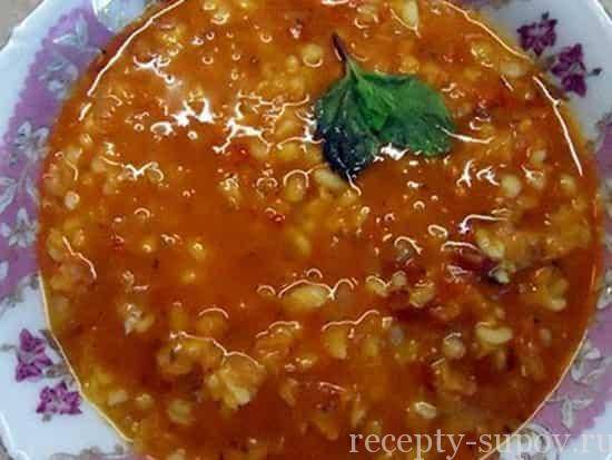 Суп из чечевицы — готовим просто и вкусно по пошаговым рецептам