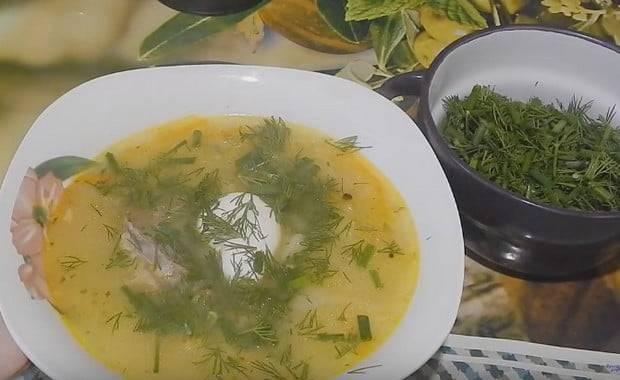 Рисовый суп с мясом и картошкой