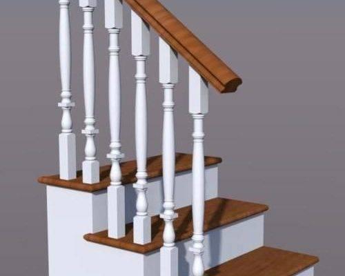 Крепление балясин и столбов лестницы: практические советы