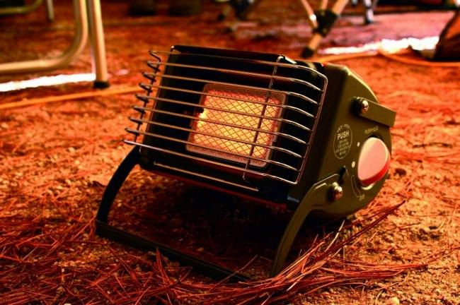 Как выбрать и использовать газовый обогреватель для палатки