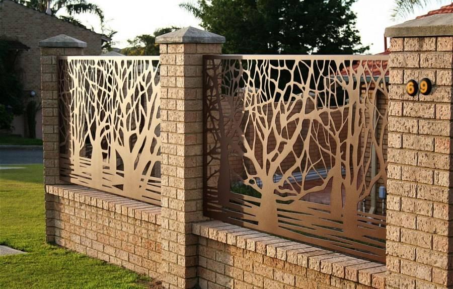 Ограждения для клумб: красивые идеи и лучшие сочетания декоративных оград (75 фото)
